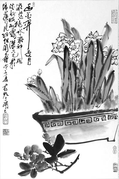 蒋频 丹青写神韵 笔墨见性情 文化名人
