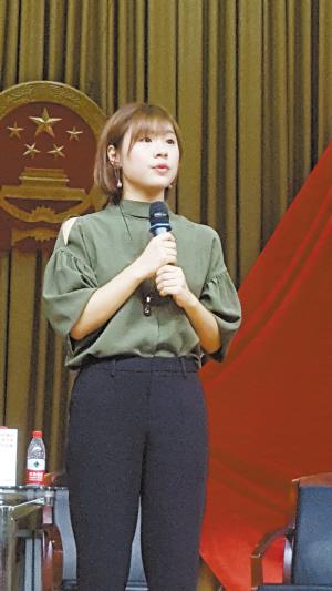 演讲女神刘媛媛分享逆袭心得 百姓故事图片
