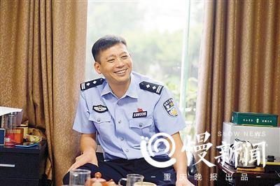 冉义智:重庆最帅刑警队长 满脸写着闲人止步